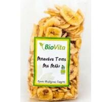 Μπανάνα Chips με μέλι 200 γρ. ΒΙΟ